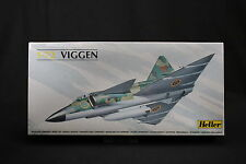 YR033 HELLER 1/72 maquette avion 80325 Swedish Air Force 1980 Viggen