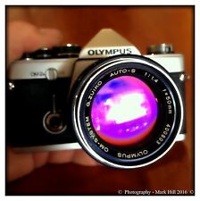 Olympus OM Zuiko 50mm f1.4 silver nose PRIME LENS