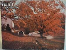 Whitman - Guild ~ Falling Leaves ~ 1000 piece Puzzle ~ New (Box Wear) Autumn