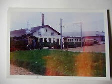SUIS589 - 1970s SZB Solothurn Zollikofen Berne BAHN - TRAIN PHOTO Switzerland
