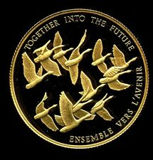1978 CANADIAN UNITY $100 DOLLAR ELIZABETH II GOLD Coin