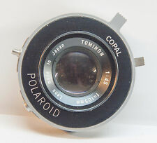 Tominon/Polaroid 105mm f/4.5 lens in Copal Shutter