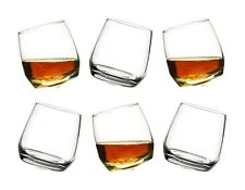 Sagaform Rocking Whiskey Glasses with rounded base  Set of 6