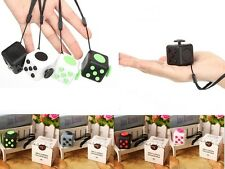 Fidget Cube Children Desk Toy Adults Stress Relief ADHD Xmas Birthday Gift