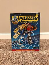 Vtg. 1985 Gobots Puzzler Renegade Robot Combiner Set MIB by Tonka Nice!