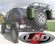 LOD Offroad Generation 3/4 Jerry Can Mount 2007-2016 Jeep Wrangler JC1004G3B