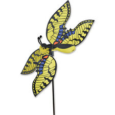 """Swallowtail 21"""" Buterfly Whirl Wing Whirligig Staked Spinner PR 21903"""