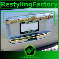 15-16 Chevy Suburban Chrome Upper Trunk Liftgate Tailgate Handle Cover 2016 2017