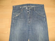 HARDLY USED MENS BOYS LEVIS TWISTED LEG FASHION BLUE JEANS SIZE 30 WAIST 34 LEG