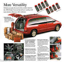 1996 Dodge GRAND / CARAVAN Brochure / Catalog; LE, MiniVan