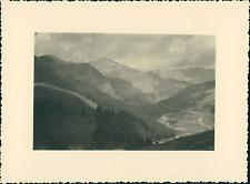 France, Haut-Queyras, près de Col Saint-Véran  Vintage silver print Tirage a