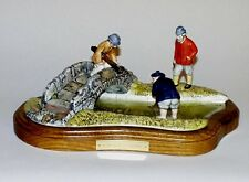 "ROYAL DOULTON GOLF ""IN THE BURN ST ANDREWS"" GOLFING GROUP.LTD.ED.7500. c1990"