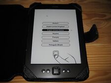 Amazon Kindle 5th Generation eReader 2GB WiFi 6in Black + Black Cover #01