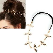 New Gold Olive Leaf Headband Grecian Style Retro Roman Party Accessory Gift F