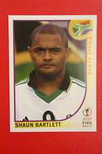 PANINI KOREA JAPAN 2002 # 167 SOUTH AFRICA BARTLETT  WITH BLACK BACK MINT!!!