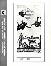 DARING GAME pressbook, Lloyd Bridges, Michael Ansara, Joan Blackman 1967