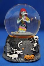 Nightmare Before Christmas Sally Jack Skellington Zero Musical Blower Snowglobe