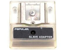 Sensore flash Popular slave adapter x sincronizzazione flash a distanza univers.
