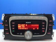 FORD 6000 SONY MP3 CD 6 CD CHANGER RADIO PLAYER CODE FOCUS MONDEO GALAXY SMAX