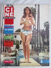 CINE REVUE 33 DU 18 AOUT 1966 AVA GARDNER GENE KELLY MONTGOMERY CLIFT