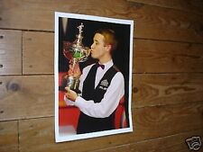 Stephen Hendry Snooker Legend Kiss Trophy Poster