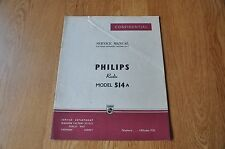 Philips Type 514A Radio Receiver Workshop Service Manual.