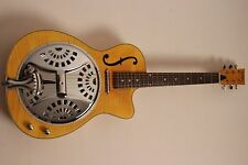 Resonador guitarra vintage china 800 AMF/dobro + fonocaptor + cut + bella veteado