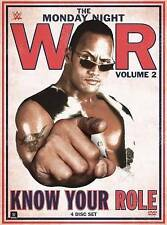 NEW WWE: Monday Night War, Vol. 2 - Know Your Role (Blu-ray Disc, 3-Disc Set)