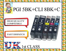 15x PGI-5BK CLI-8 Ink Cartridges for canon NONORIGINAL