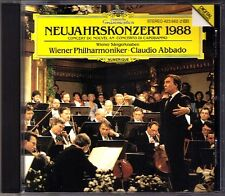 New Year's Concert from Vienna 1988 Claudio ABBADO CD Neujahrskonzert aus Wien