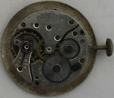 Civitas mens wristwatch movement & dial balance broken to restore