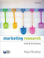 MARKETING RESEARCH: TOOLS AND TECHNIQUES.