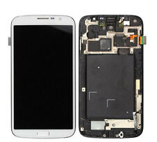 LCD Touch Screen Frame Assembly For Samsung Galaxy Mega 6.3 AT&T SGH-I527 White
