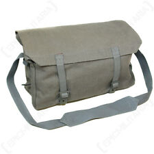 Original Unissued Danish Field Grey Canvas Medic Bag with Surplus Equipment