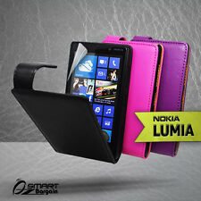 Premium Flip leather Case Cover for NOKIA LUMIA 820 L820 N820 Pouch + Free SP