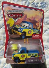 Disney Pixar Cars 1 Dexter Hoover with Yellow Flag World of Cars Mattel Diecast