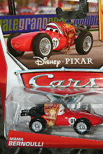 "DISNEY PIXAR CARS 2 ""MAMA BERNOULLI"" NEW IN PACKAGE, SHIP WORLDWIDE"