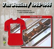 BEATLES 1962-1966 2-CD GIFT SET PLUS XL T-SHIRT FROM CAPITOL SEALED BRAND NEW