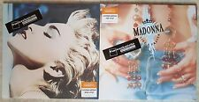 MADONNA 2 LP LIKE A PRAYER TRUE BLUE red blue vinyl edition SEALED FRANCE FNAC