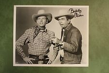 Buddy Ebsen hand signed B&W 10x8 photo AUTOGRAPHED Beverley Hill Billies