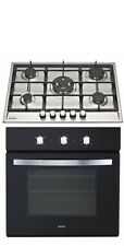 SAGA Attic S751CI 70cm 5 Burner Gas Hob & SAGA Electric 60cm Fan Rotisserie Oven
