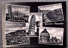 RICORDO DI PISA multivues    postcard