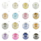 16 Colors 3D Cosmetics Glitter Eye Shadow Makeup Cream Shimmer Eyeshadow Palette