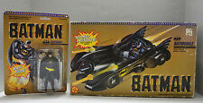Batman Vintage Toy Biz [1989] Figure Batmobile DC Lot of 2 Tim Burton
