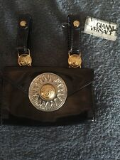 GIANNI VERSACE MEDUSA HEAD MENS LEATHER BELT BAG -1993 MIAMI COLLECTION, Rare!