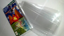 10 Clear Panasonic 3DO 3D0 Game Long Box Protectors - Protect your CIB games!