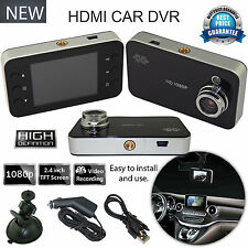 "1080P 2.4"" HD LCD Night Vision CCTV In Car DVR Accident Camera Video Recorder UK"