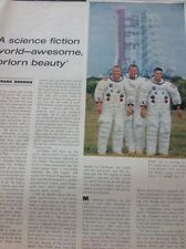 Magazine article / 1968 Interview Jim Lovell Saturn V Space Mission
