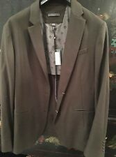 BNWT JOHN VARVATOS CASHMERE PURE VIRGIN WOOL BLEND BLAZER JACKET UK44 EU 54