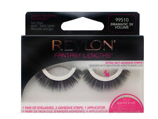 REVLON FALSE EYELASHES EYELASH EYE LASH LASHES DRAMATIC 3X VOLUME 99510 BLACK